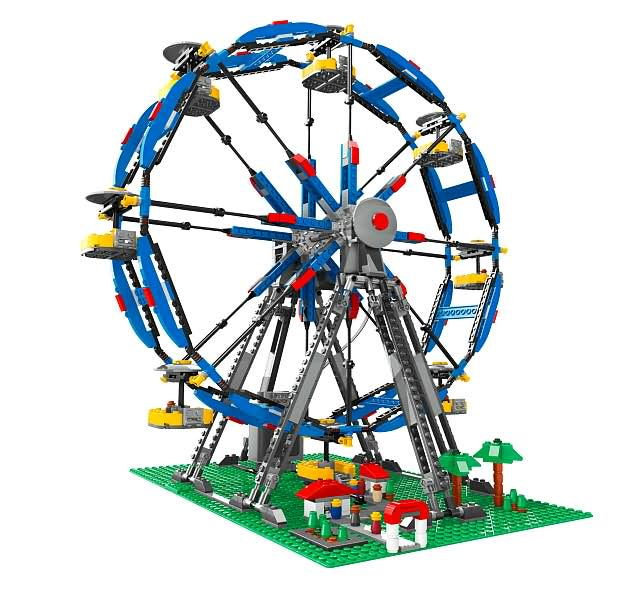 Lego Creator Ferris Wheel W Power Functions 4957