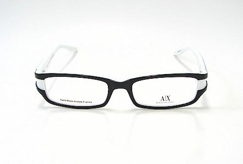armani exchange ax 211 black white 0jba optical eyeglasses frame by armani exchange
