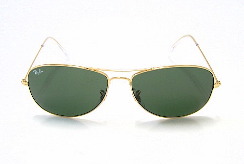 70bd6cfbc6 RAY-BAN RAYBAN RB 3362 Cockpit Arista Gold 001 Sunglasses by Ray-Ban