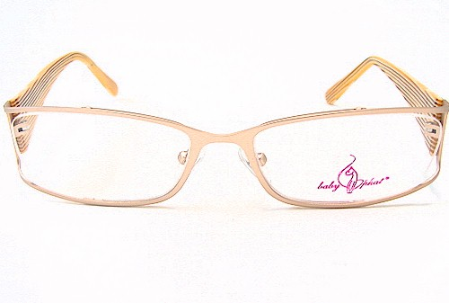 Baby Phat 131 Eyeglasses Gold Gd Optical Frame