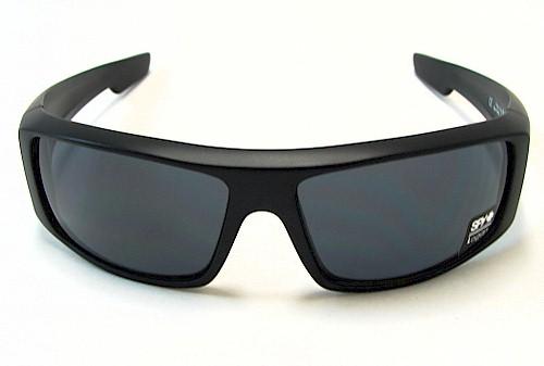 e5a0e0ea62 SPY OPTIC Logan Sunglasses LOBK00 Matte Black Shades