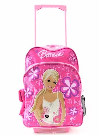 Barbie Rolling Backpack Pink School bag with wheels BP-5170 ...