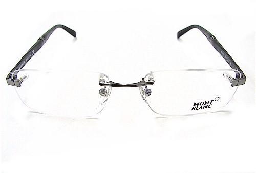 fcfed9258c MONT BLANC MB-9101 Eyeglasses MB9101 Ruthenium A36 Optical Frame by Mont  Blanc