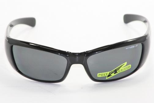 2cbf7b50bbba ARNETTE Rage XL 4077 Sunglasses Glossy Black 41/81 Polarized Shades by  Arnette