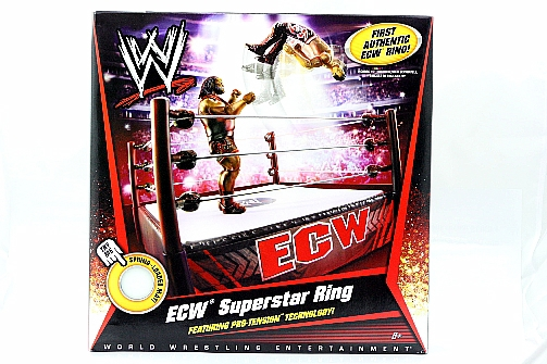 World Wrestling Entertainment Ecw Superstar Ring Toy By Mattel