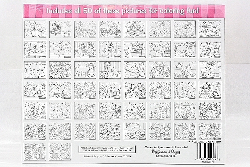 Melissa & Doug Jumbo Multi Theme Coloring Pad Kids Toy #4225