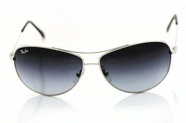 ray ban 3293  Ray Ban RB 3293 Sunglasses Rayban RB3293 Silver 003/8G Aviator ...