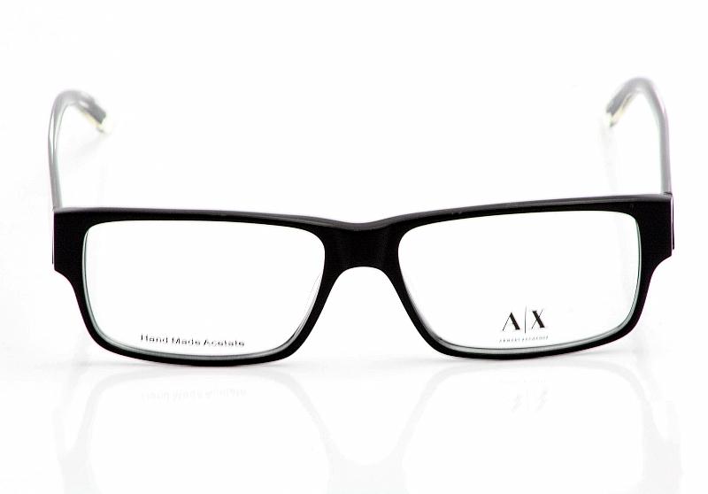 678ba494d9ff Armani Exchange Eyeglasses AX145 Black Crystal Optical Frames by Armani  Exchange