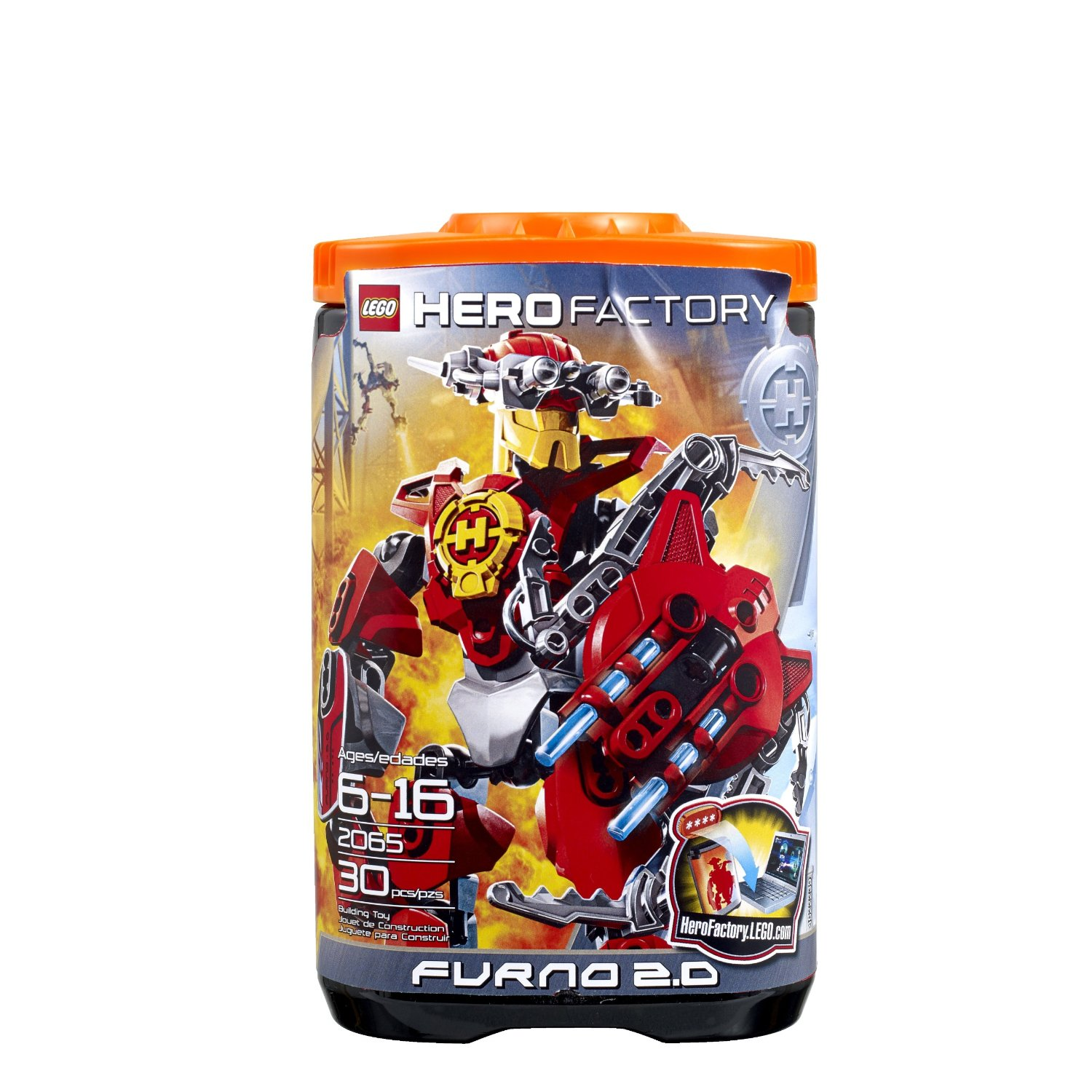 lego hero factory furno 2 0 2065 building toy