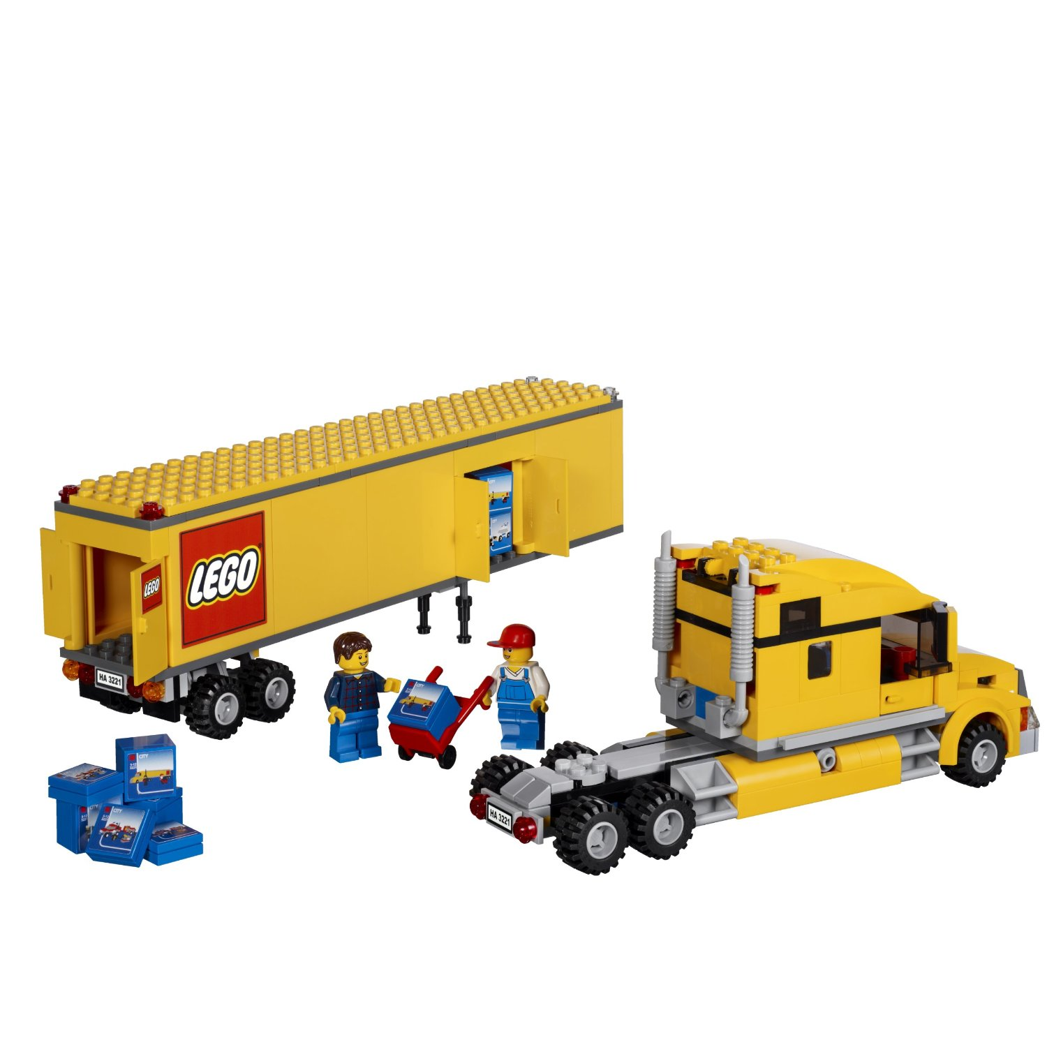 LEGO City Truck 3221 Building Toy 531244485 on city dump trailers