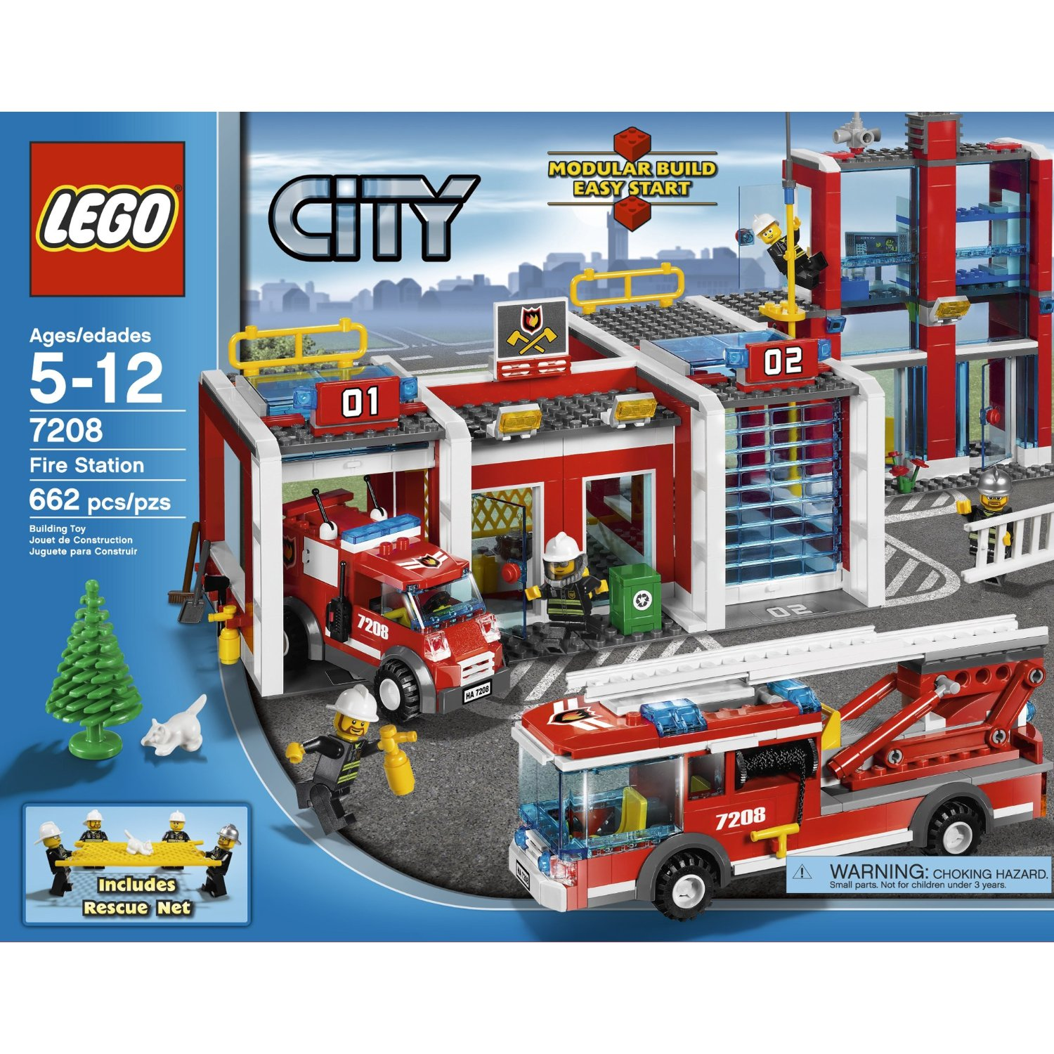 ... Fire Station 7208 Building Toy /Toys & Hobbies/Building Toys/LEGO