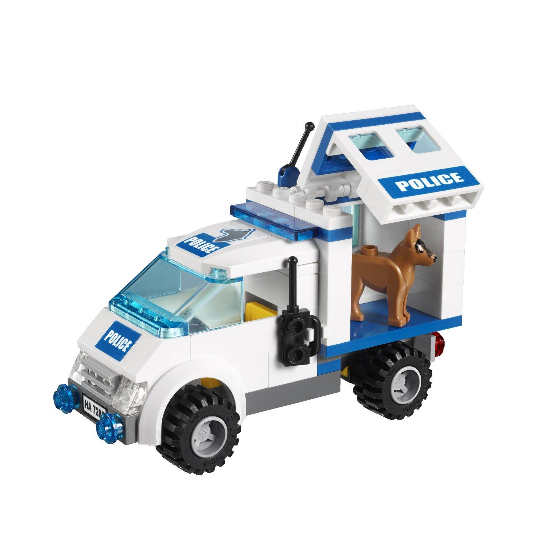 Lego City Toys : Lego city police dog unit building toy