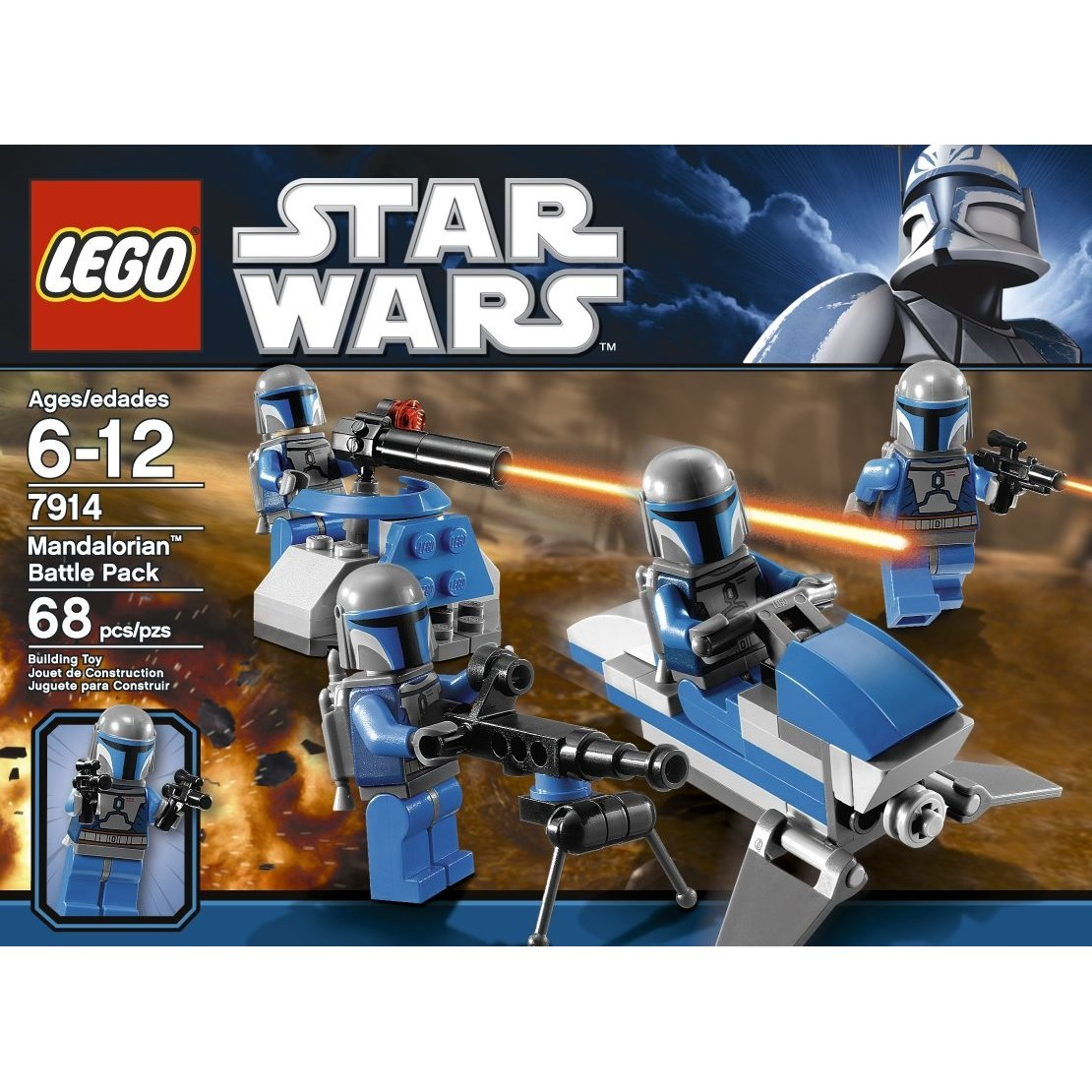 Lego Star Wars Battles 0 30 Apk: LEGO Star Wars Mandalorian Battle Pack 7914 Building Toy