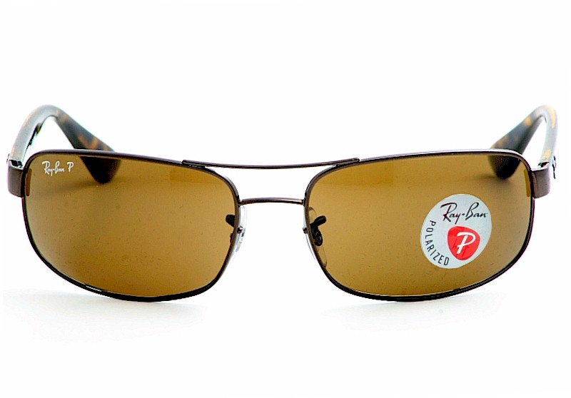 5376a98396 ... where to buy ray ban rb3445 3445 dark brown rayban polarized sunglasses  by ray ban 9eb1f