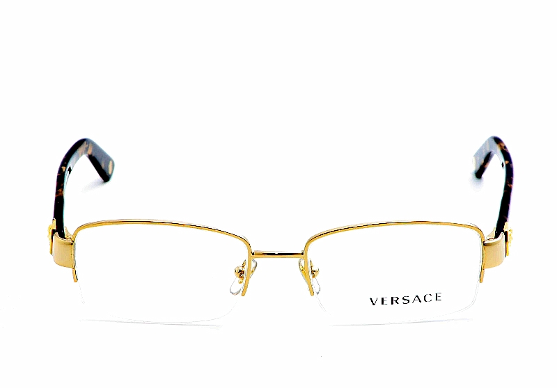 gold optical frames by versace zoom