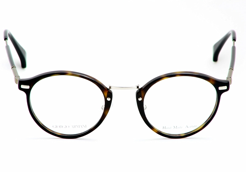 giorgio armani eyeglasses ga828 dark havana brown optical frame by giorgio armani