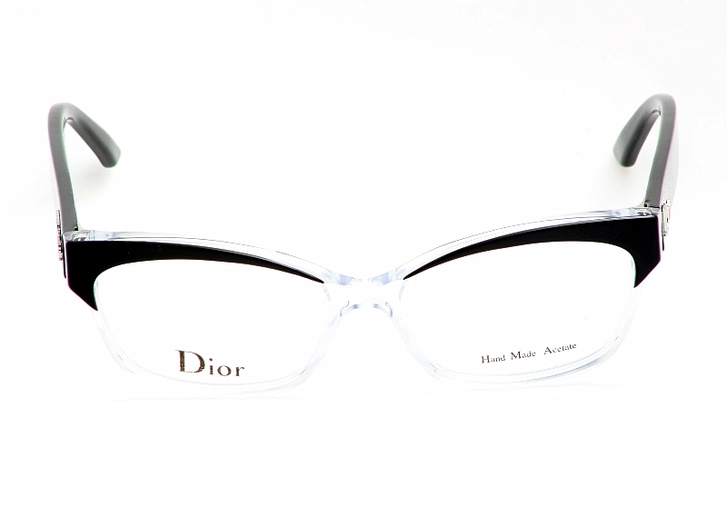 01b43b39a58 CHRISTIAN DIOR CD3197 Eyeglasses Black Crystal Optical Frame by Christian  Dior