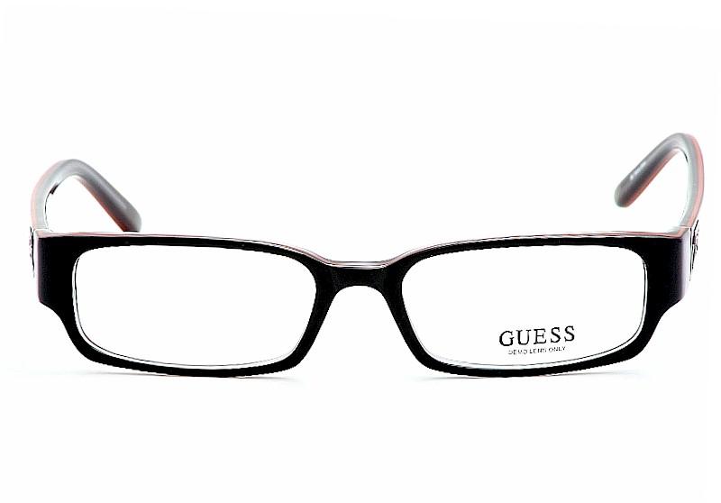 Guess Eyeglasses GU/1686 Black/Red Optical Frame