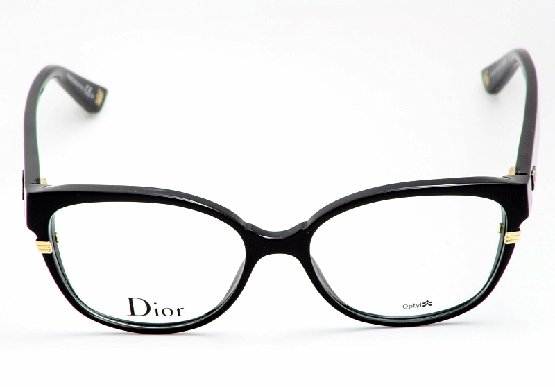 Eyeglass Frames Dior : Christian Dior Eyeglasses 3203 Shiny Black Optical Frame ...