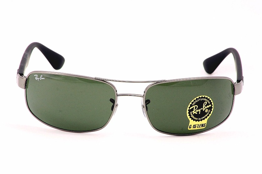 ray ban 3445  RayBan Sunglasses Ray Ban 3445 004 Gunmetal Shades /Clothing ...