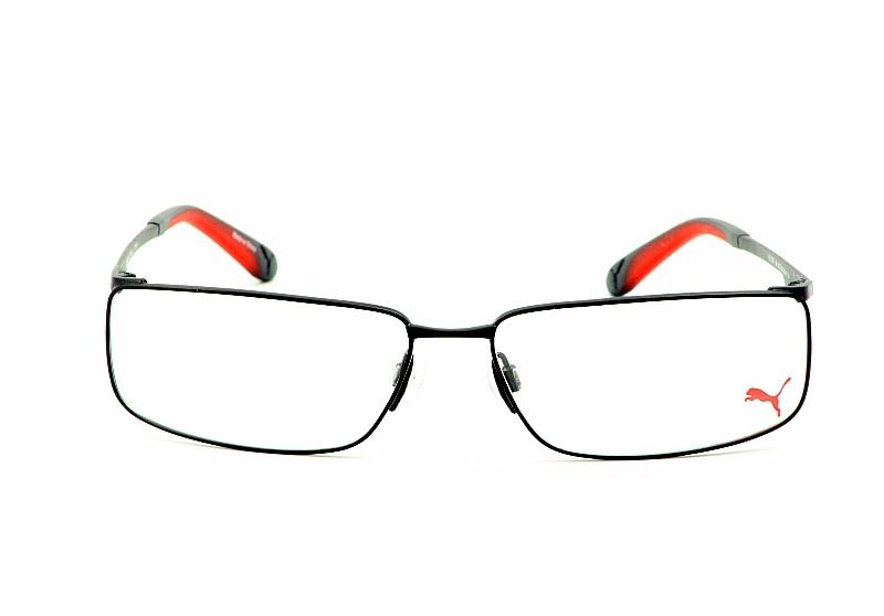 d60cc507d43f Puma Eyeglasses 15271 Black Optical Frame