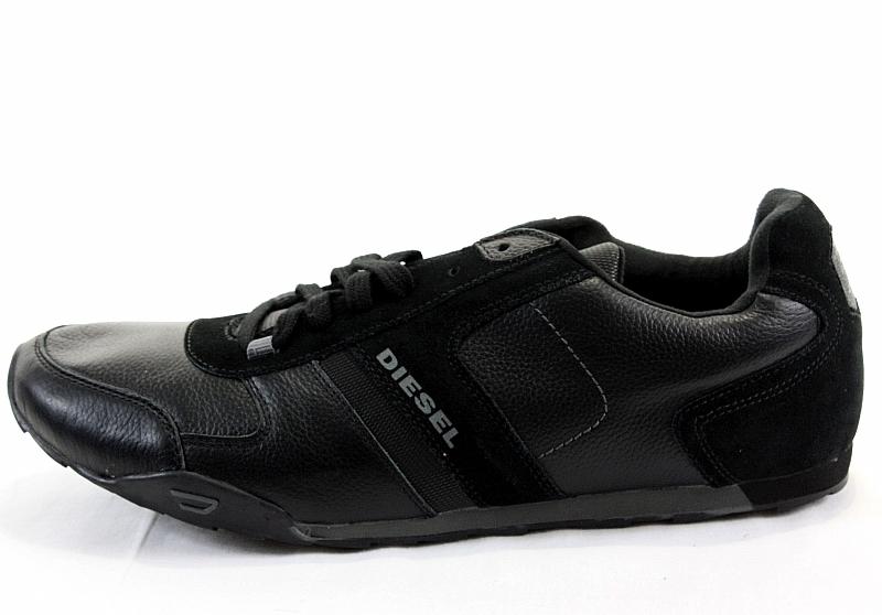 Diesel Soft Rock Black Shoes