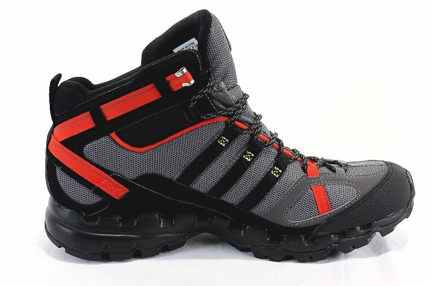 cd4c568d652 Adidas Men's Hiking Boots AX1 AX/1 Mid GTX G40608 Grey/Black/Red ...