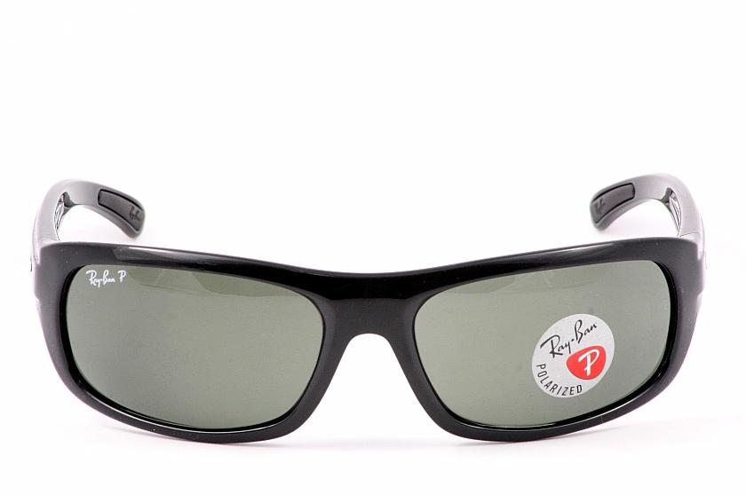 7dfe28ff53 Rayban Sunglasses Ray Ban 4166 601 58 Shiny Black Polarized Shades by Rayban