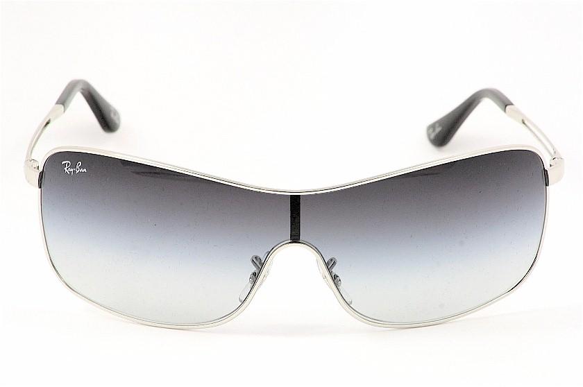 ray ban 3466 sunglasses  rayban rb3466 3466 003/8g silver shield ray ban sunglasses by rayban