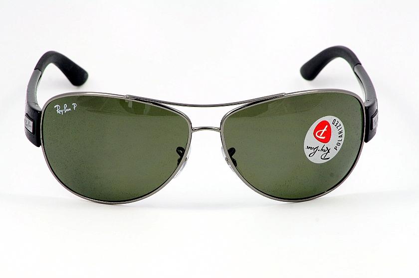 Rayban Sunglasses Ray Ban 3467 004 9a Gun Metal Polarized