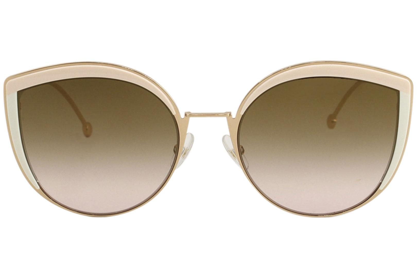 3c104eef5a2 Fendi Women s FF0290 S FF 0290 S Fashion Cat Eye Sunglasses by Fendi