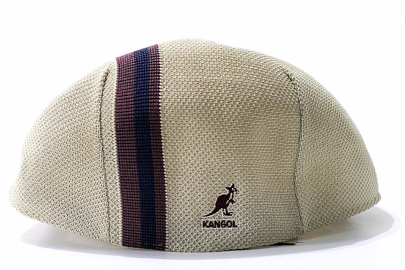 Kangol Polo Stripe 507 K0960FA Men s Beige Ivy Cap Hat by Kangol ee0c3a7808b