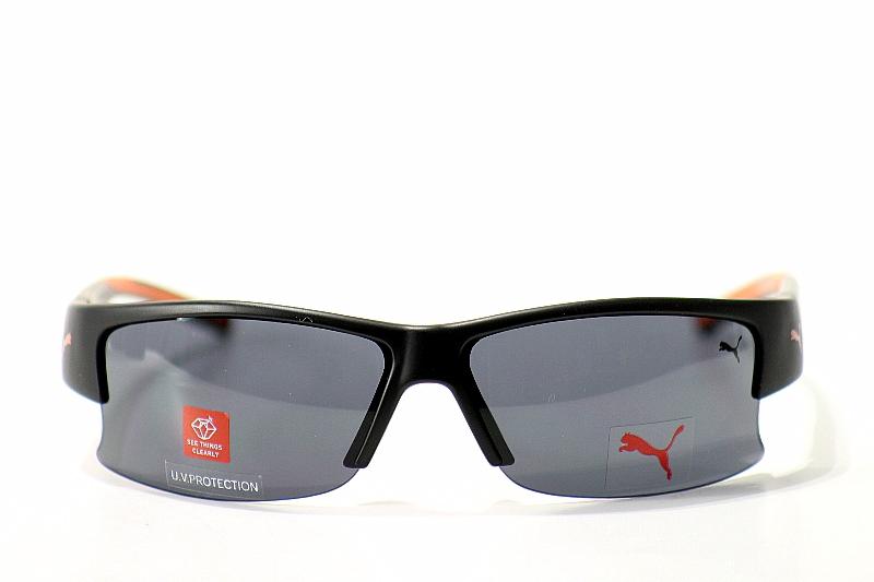 8730166a9ba78 Puma Sunglasses Flux PU15144 15144 BK Black Shades