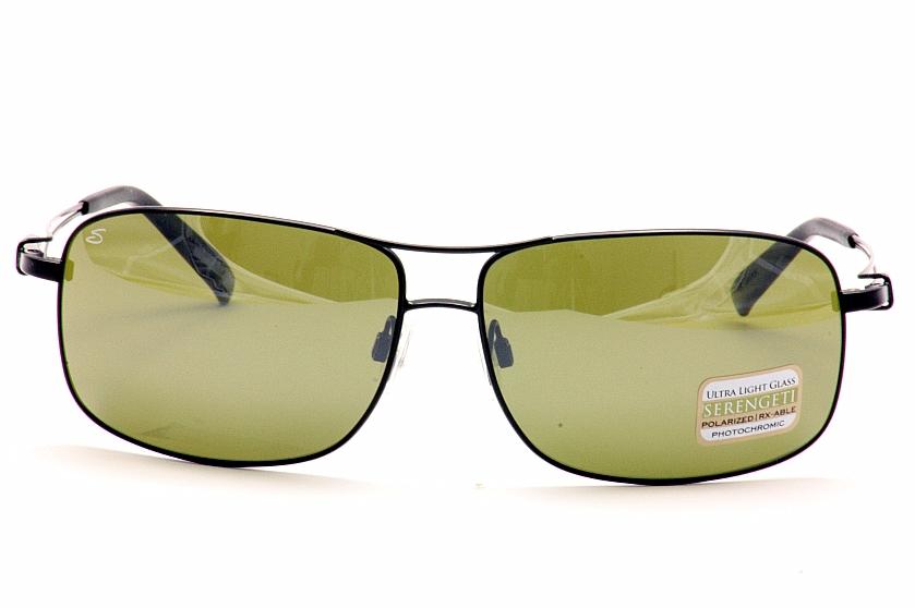1d97b4236860 Serengeti Sunglasses Sassari 7664 Satin Black Polarized Shades by Serengeti