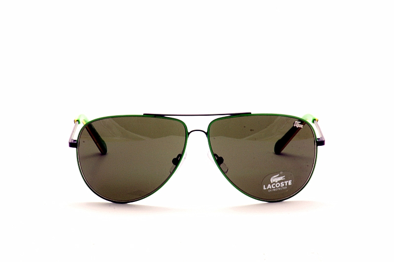 617ad6ec252d Lacoste Sunglasses L129 S L129S 001 Black Aviator Shades by Lacoste