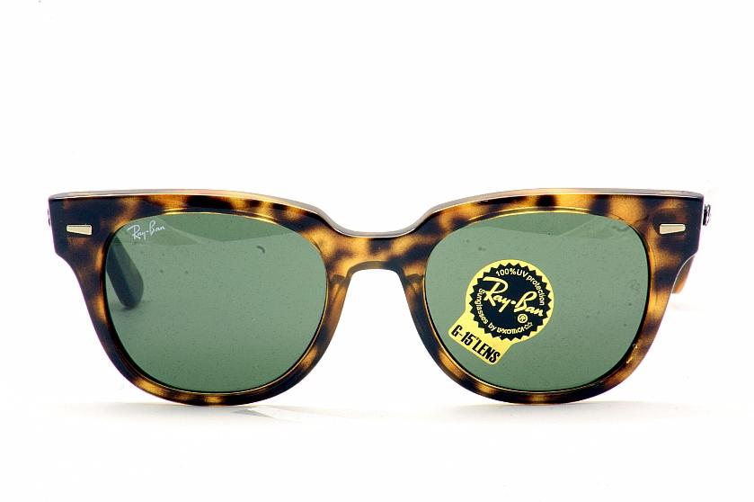 6190bf21ab Ray Ban Meteor RB4168 4168 710 Shiny Havana RayBan Wayfarer Sunglasses by  RayBan