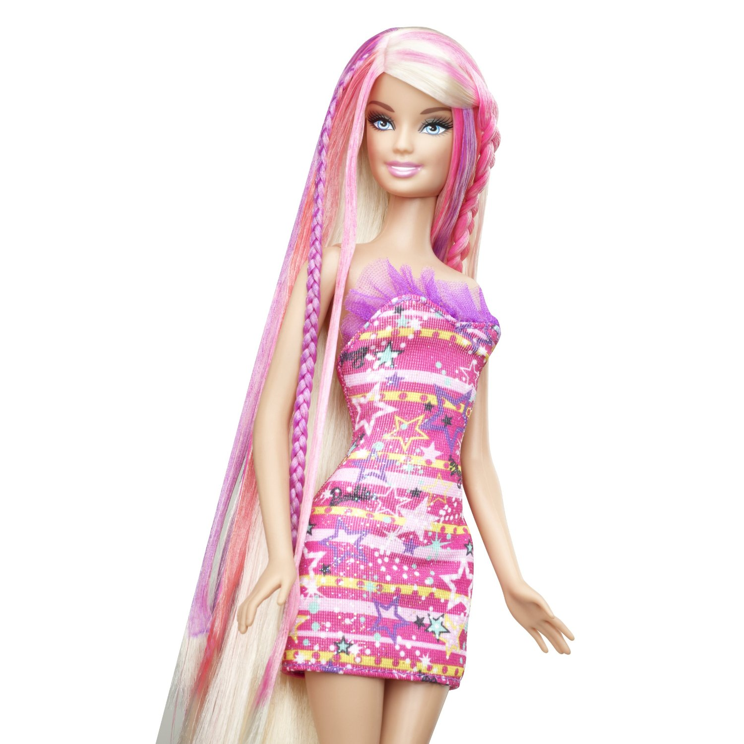 Barbie Hair Tastic Color Design Salon Doll Toy Set By