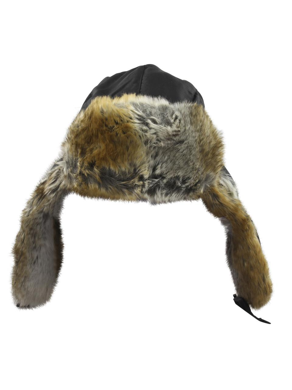 7edbe16fd36 Woolrich Men s Supplex Faux Fur Trapper Hat by Woolrich