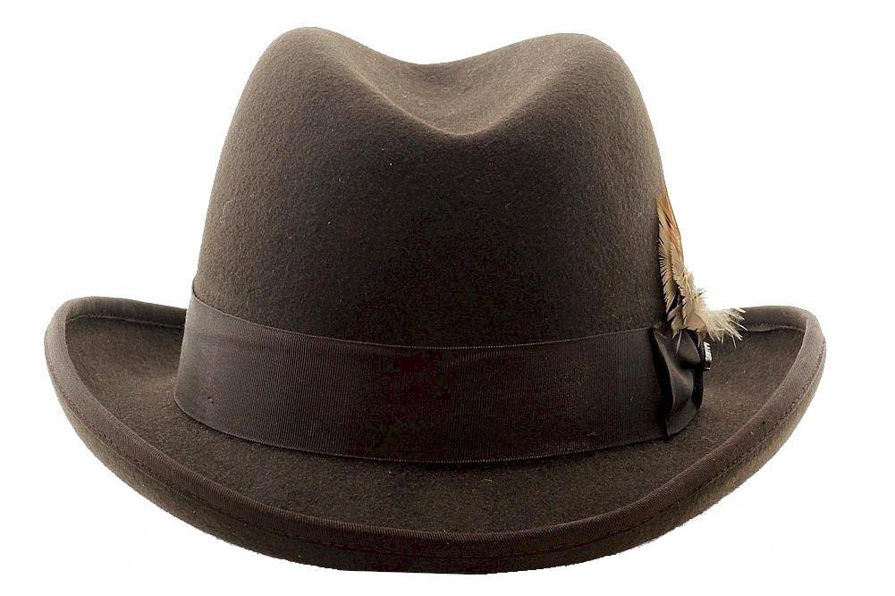dbc408992f1daa Scala Classico Men's Godfather Wool Homburg Hat by Scala