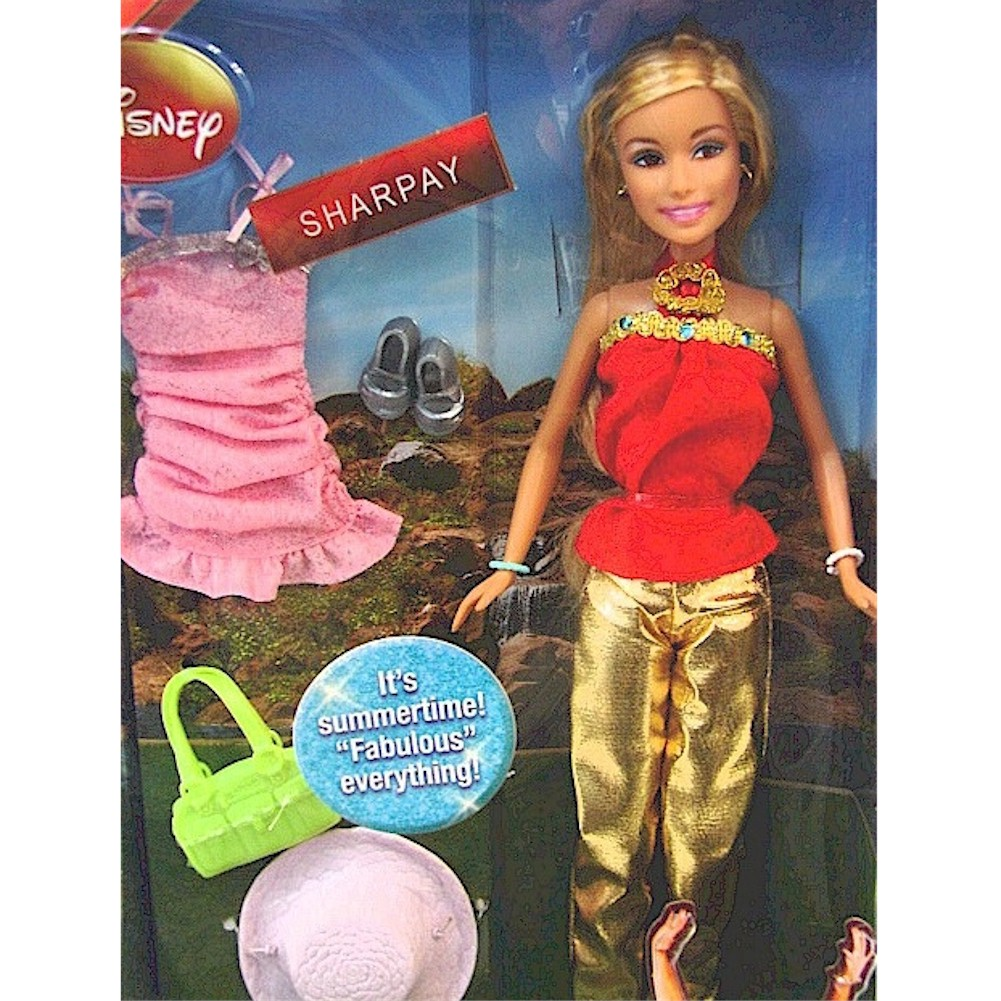 Disney High School Musical 2 Sharpay Posable Doll Figure Toy