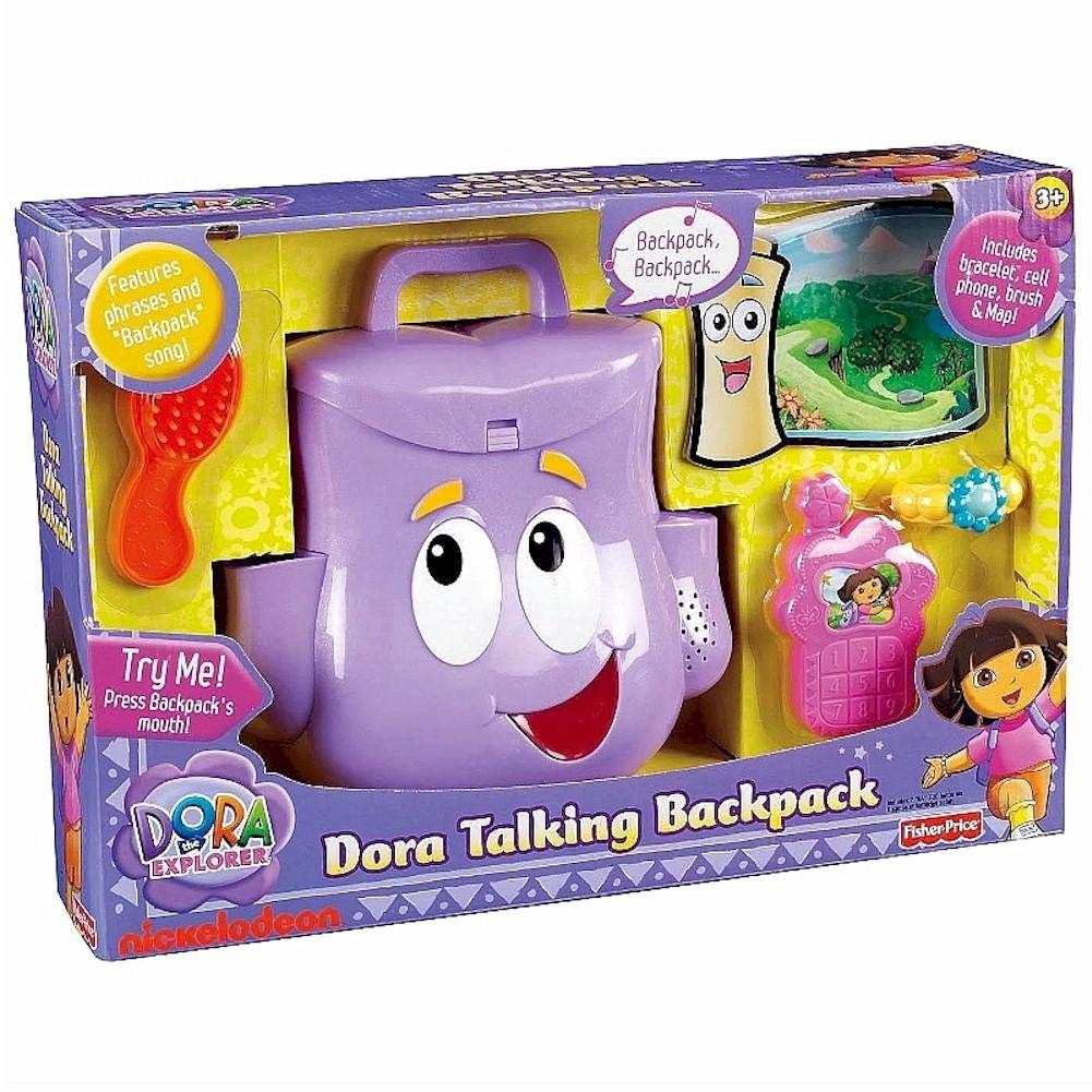 All Dora Toys : Nick jr s dora the explorer talking backpack toy