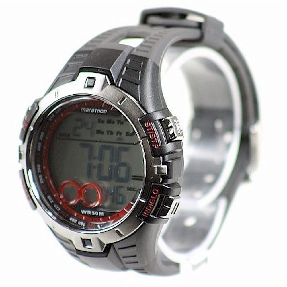 Timex Marathon Mens T5k4239j Black Chronograph Digital Watch Expedition E6681 Rose Gold By