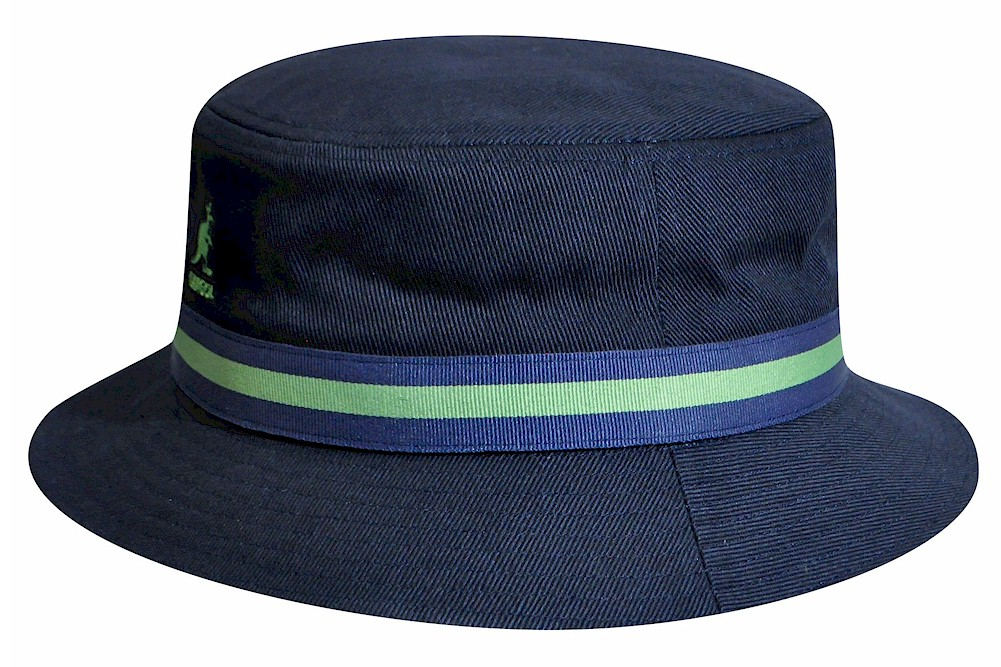 3d714ff3cbf Kangol Men s Stripe Lahinch Cap Cotton Bucket Hat by Kangol
