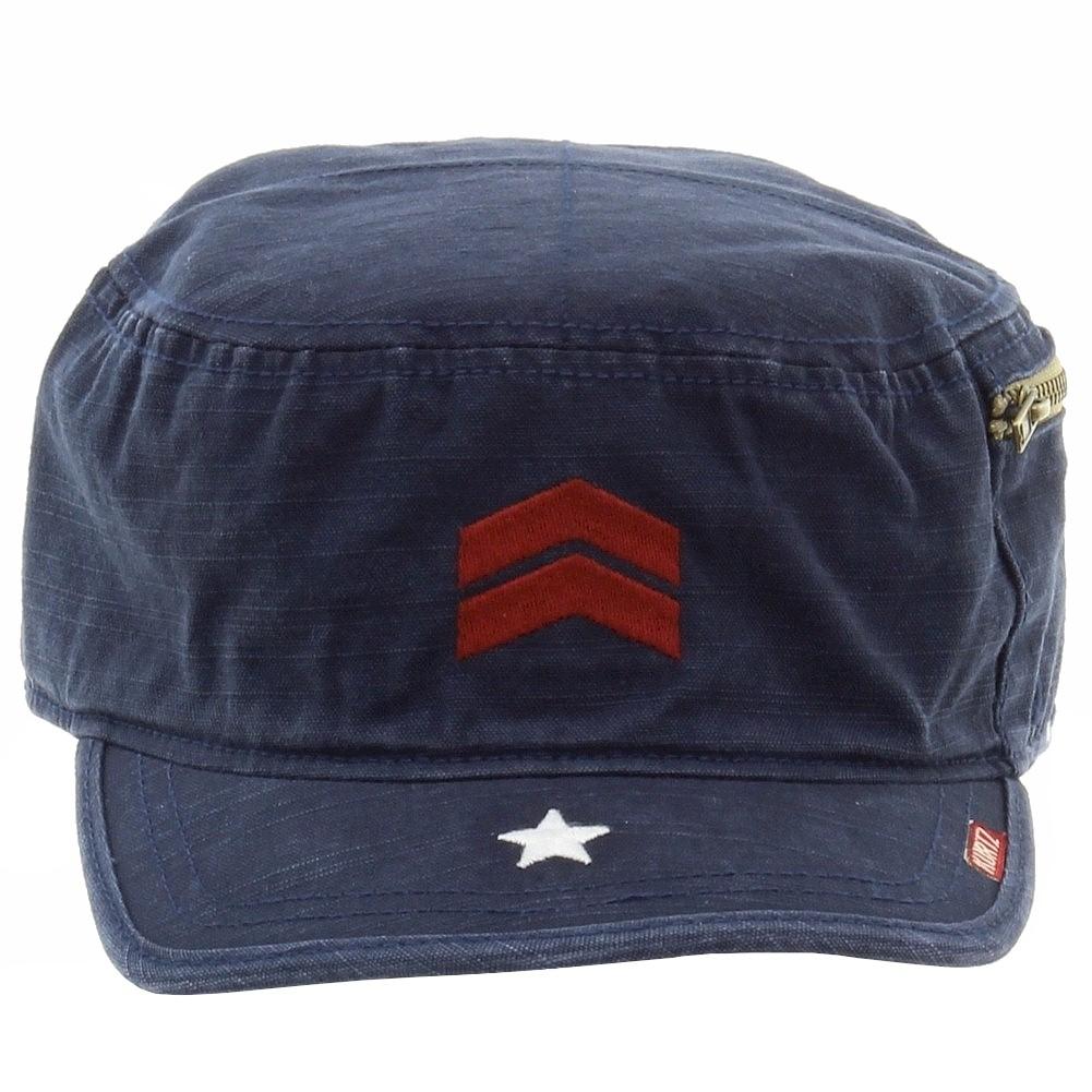 Kurtz Men s Fritz Cotton Military Cap Hat df5193919a5