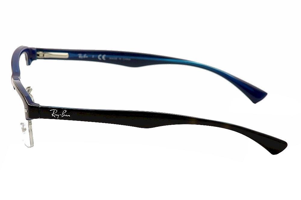 Ray Ban Optical Half Frame Glasses 5201 : Ray-Ban Mens Eyeglasses RB7014 RB/7014 RayBan Half Rim ...