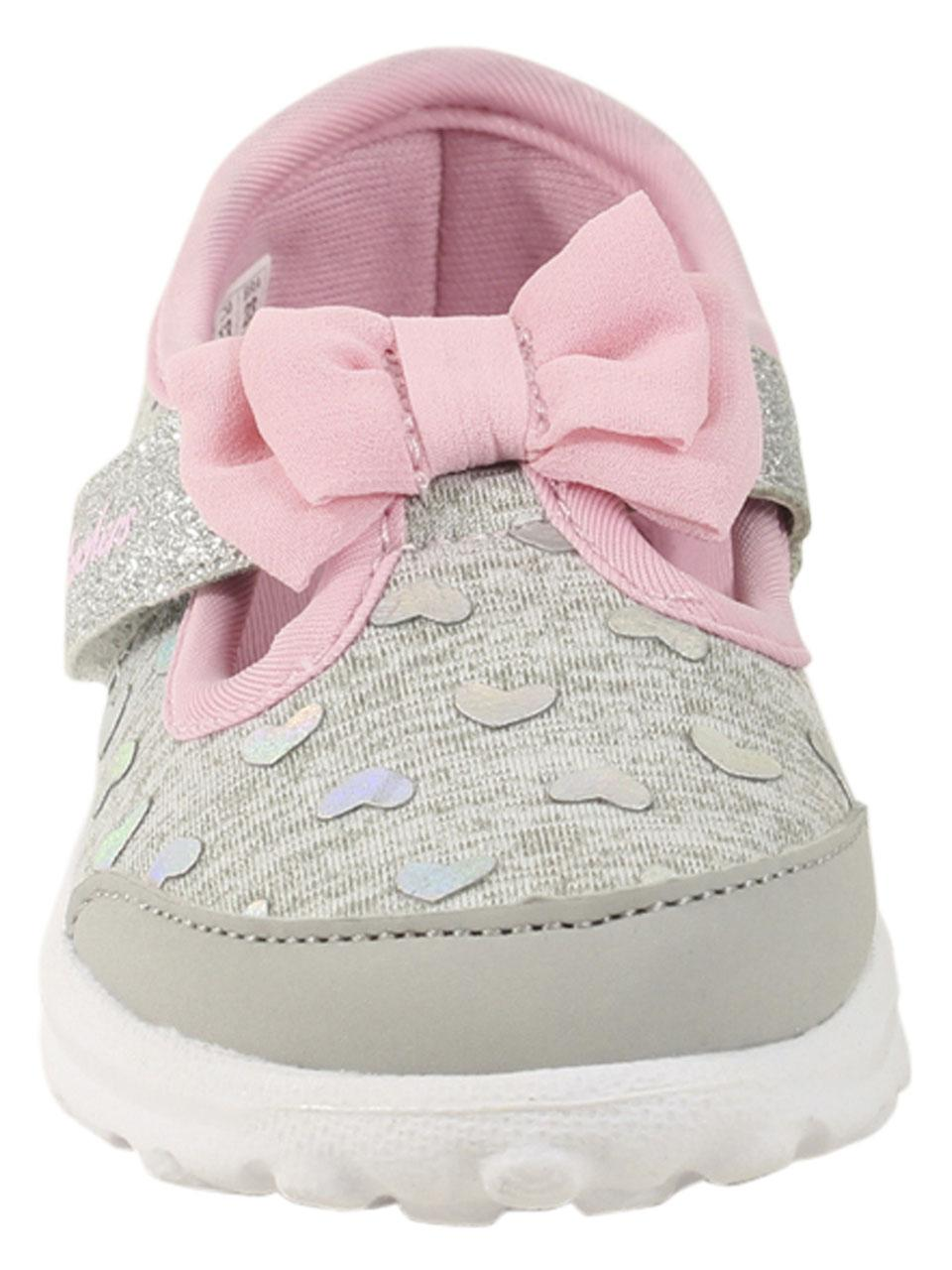 c4fe0e902c7 Skechers Toddler Girl s Go Walk Bitty Hearts Memory Foam Loafers Shoes by  Skechers