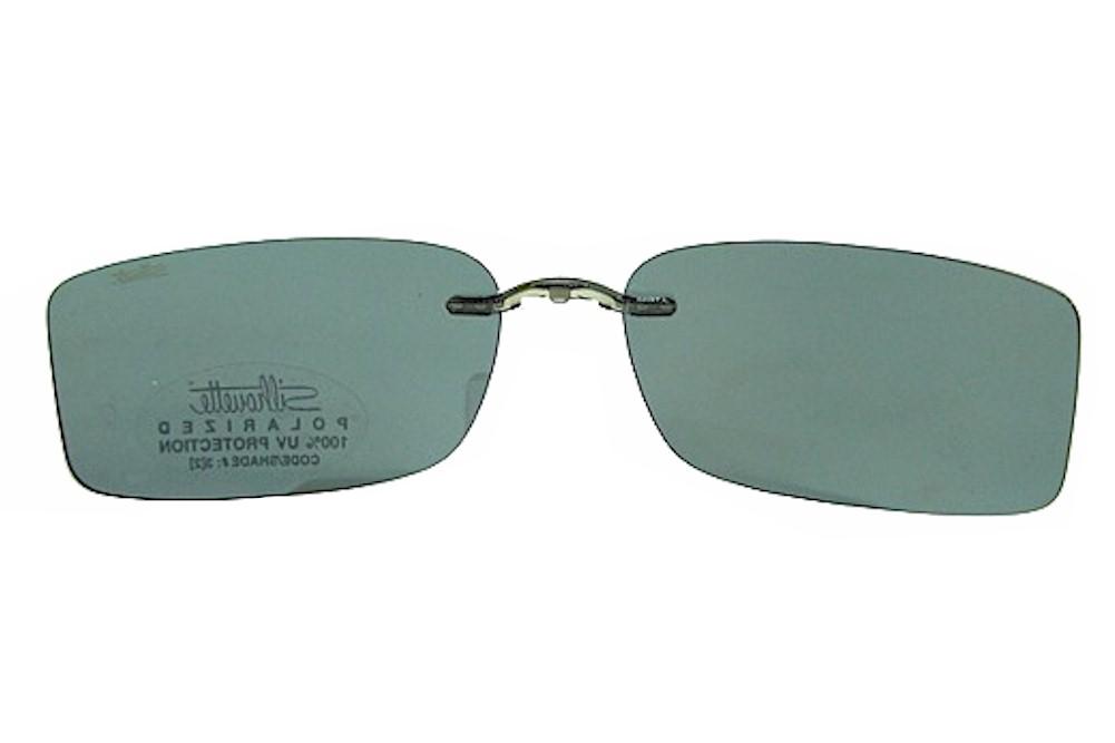 Silhouette Mystero 5065 Polarized Gray Clip On