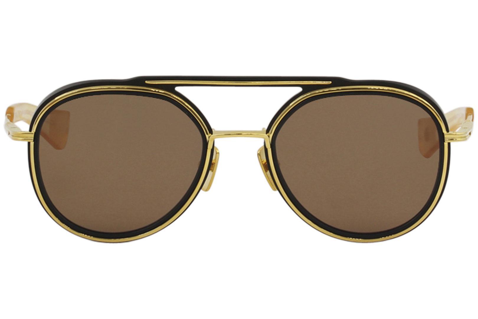 02afc89545 Dita Men s Spacecraft 19017 Fashion Pilot Titanium Sunglasses