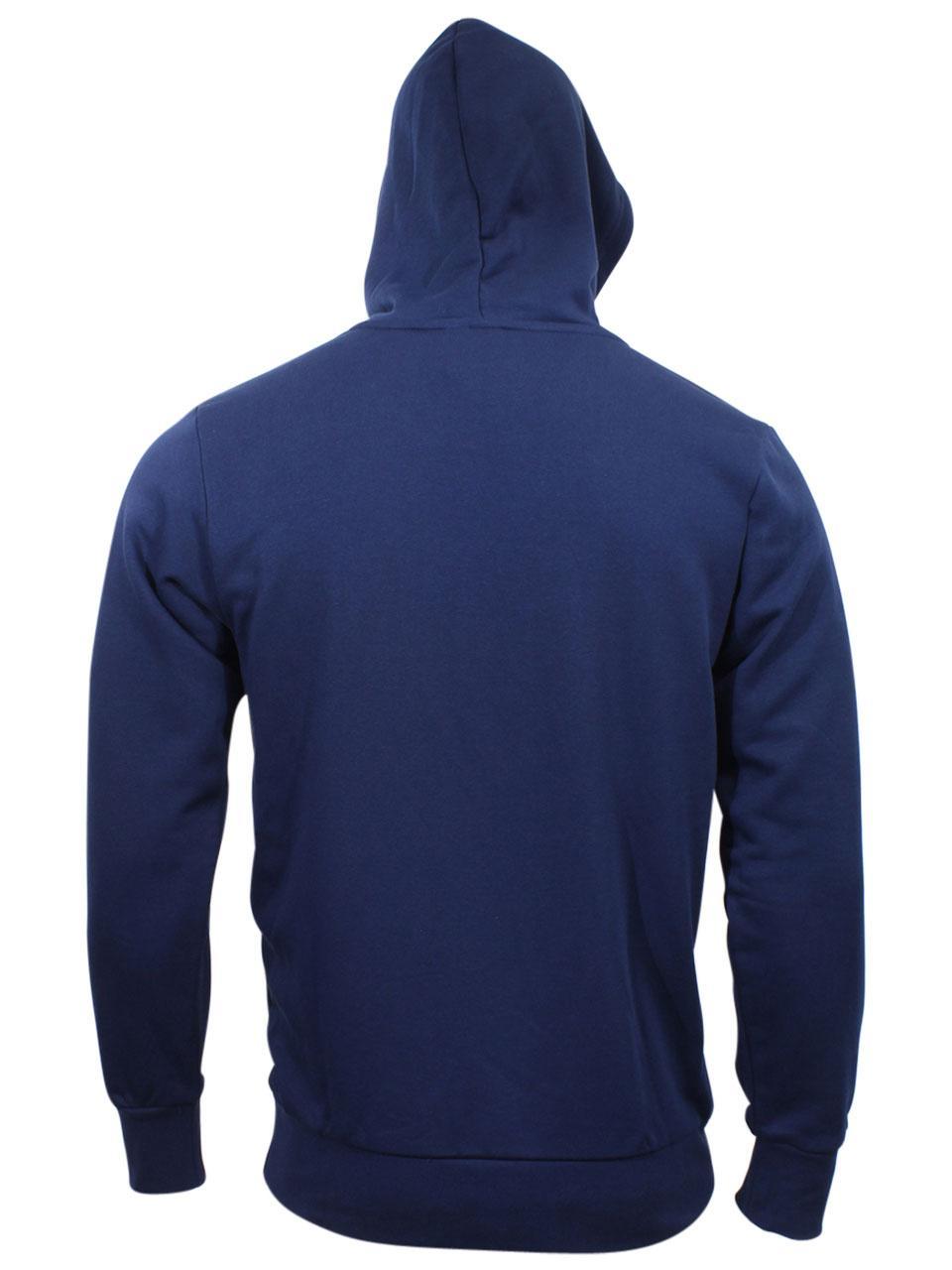 f4d9d4836ba Adidas Men s Essentials Linear Logo Pullover Hoodie Sweatshirt