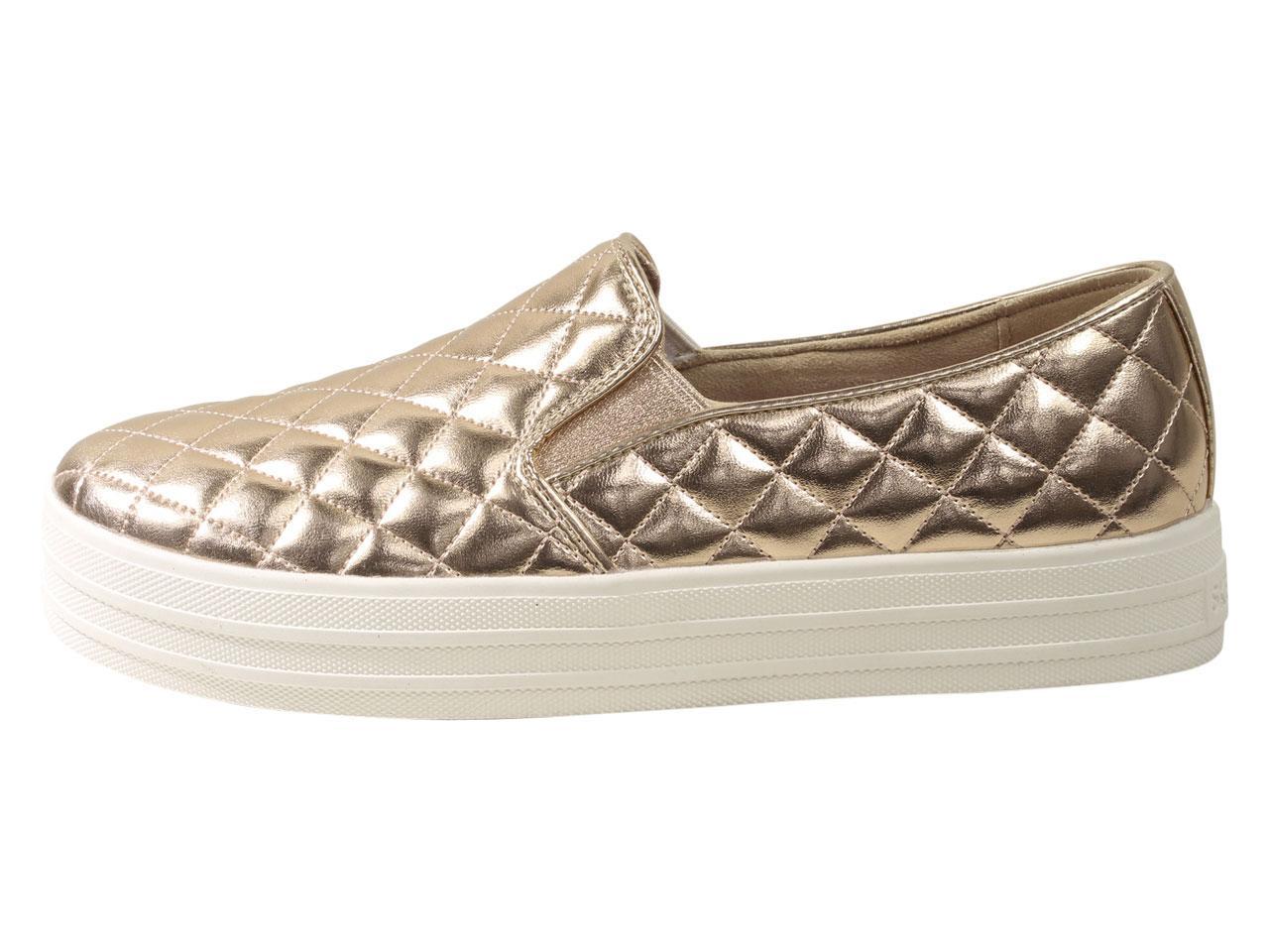 Skechers Women S Double Up Duvet Memory Foam Loafers Shoes